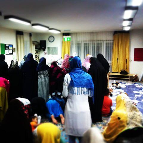 Women offer Taraweeh prayers in Frankfurt, German/Sarah Karim