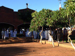 After Asr prayers in Malawi