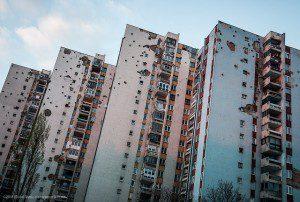 Building in Sarajevo/Flickr Commons/Michal Huniewicz