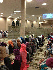 Taraweeh prayers in Grand Rapids, MI/Delal Pektas