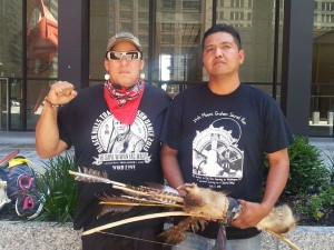 Members of the Apache Caravan/Ashley Wolford