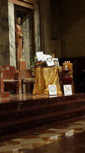 St Giles cornucopia