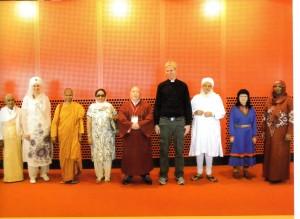 Precious Rasheeda Muhammad at the 2009 Parliament of the World's Religions, held in Melbourne, Australia.