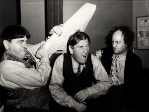 The Three Stooges, via Wikimedia Commons