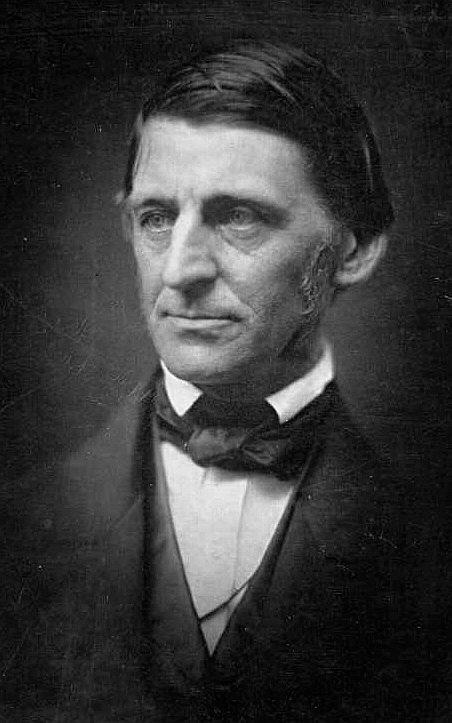 Ralph Waldo Emerson at age 54