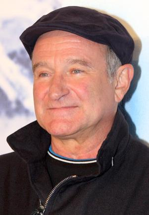 Robin Williams, 2011, by Eva Rinaldi via Wikimedia Commons