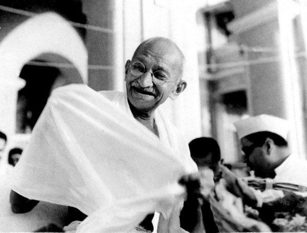 Mahatma Gandhi via Wikimedia Commons