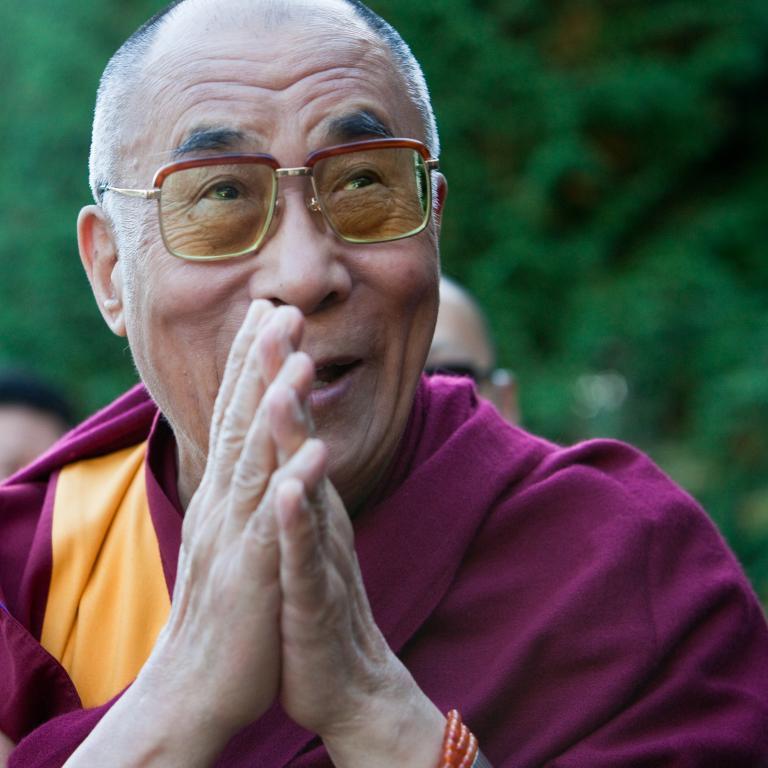 Dalai Lama prayer