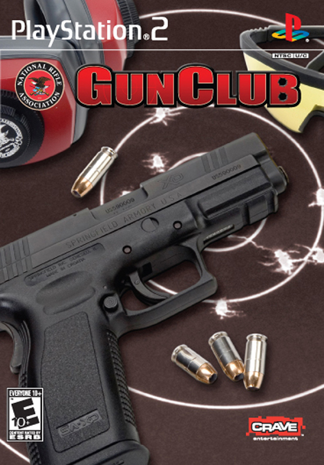 Cover for the video game NRA Gun Club.