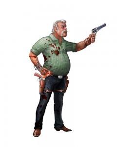 Redneck with a gun.