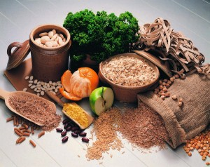 grains and vegetables