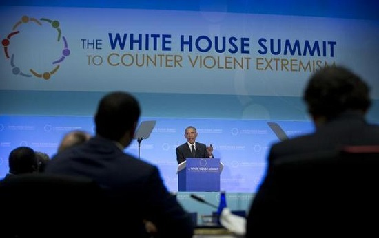 The White House Countering Violent Extremism Summit Image Source: Wikimedia Commons