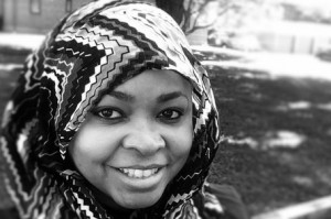 Margari Hill of Muslim ARC, and a featured Muslim woman speaker
