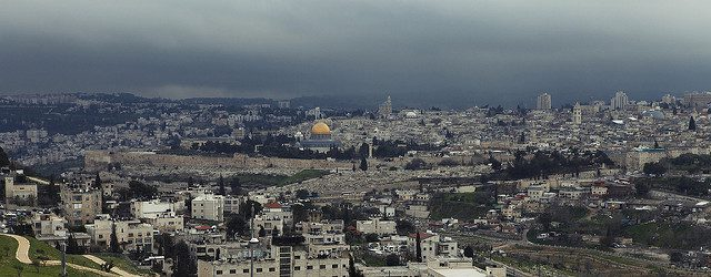 Jerusalem, Muslim, Christian and Jewish sites. Photo by Eran Menashri on Flickr Creative Commons