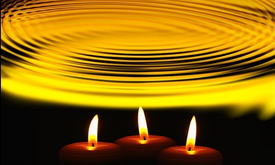 candle wave