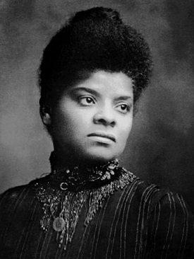 Ida B. Wells. Image source: By Barnett - https://leilaibrahim.wordpress.com/2014/09/24/lynching-photography/, Public Domain, Link