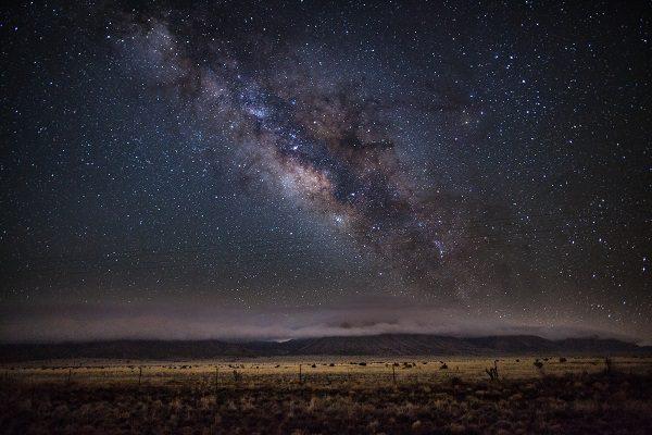 Milky Way over Route 60. Photo taken by Alex Warnes (Instagram @alexwarnesphotos)