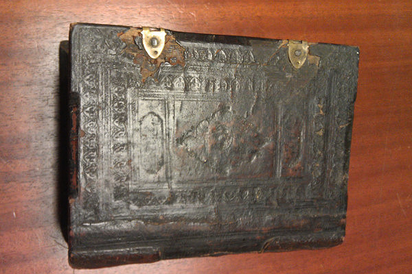 Old book of Russian Orthodox canons