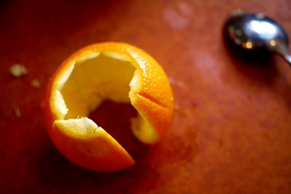Orange peel, more than it seems