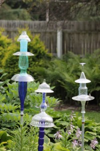 ...and glass totems too