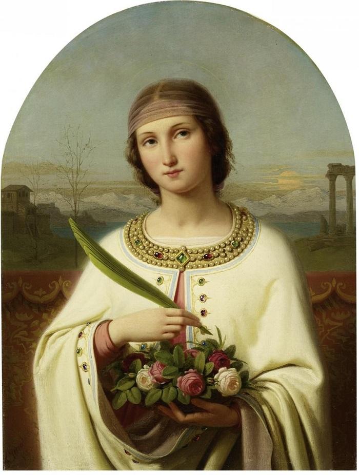 Garden Saints; St. Dorothy of Caesarea | Margaret Rose Realy, Obl. OSB