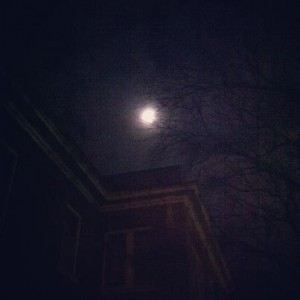 Mary in the Moon