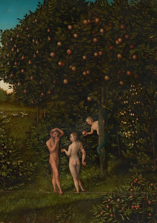 Lucas Cranach the Elder [Public domain], via Wikimedia Commons