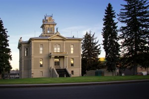 The Columbia County Courthouse, located on 341 E Main Street in Dayton, is the oldest working courthouse in all of Washington's 39 counties.