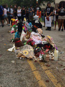Memorial for Michael Brown