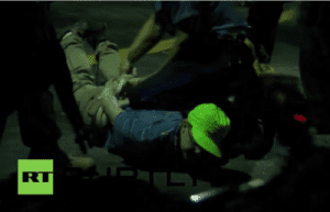 Legal Observer arrested in Ferguson MO