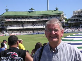 Terry at Newlands