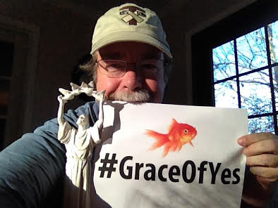John Clem celebrates #graceofyesday