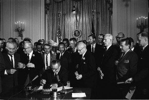 640px-Lyndon_Johnson_signing_Civil_Rights_Act,_July_2,_1964