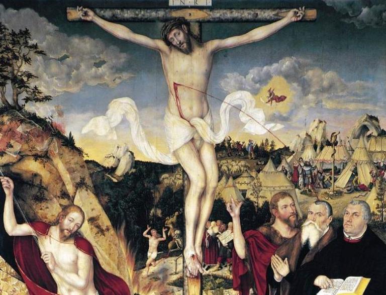 Herderkirche_Weimar_Cranach_Altarpiece