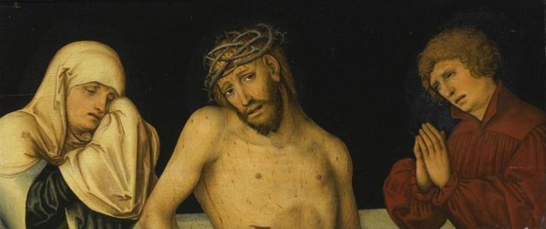 Lucas_Cranach_d.J._-_Christus_als_Schmerzensmann_mit_der_Jungfrau_und_Johannes