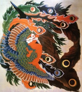 Hokusai Phoenix at Ganshoin