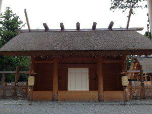 Ise-Outer Shrine Entrance