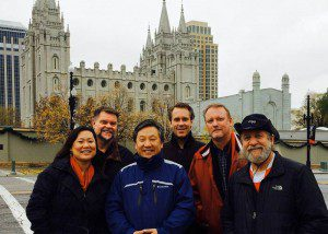 Members of Multi-Faith Matters during a Visit to Salt Lake City