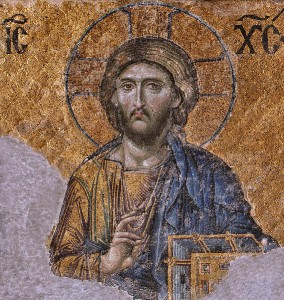 """Christ Pantokrator (""""Christ Almighty"""") from the Hagia Sophia Creative Commons"""