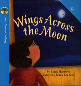 wings across the moon