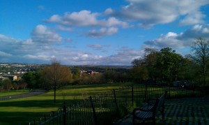 A picture I took in Queen's Park in Glasgow on a rare sunny day in May 2013
