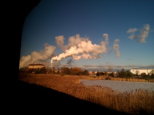 a picture taken from the Empire Builder train