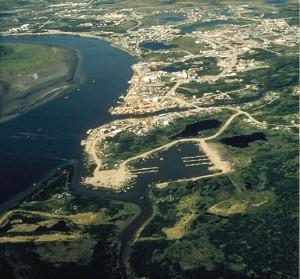 A view of Bethel, Alaska
