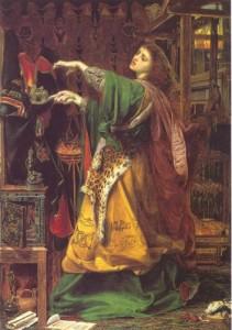 Morgan le Fay, by Frederick Sandys