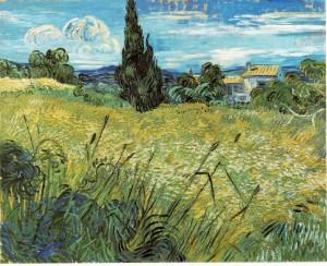 Vincent Van Gogh, Wheat Field (1889)
