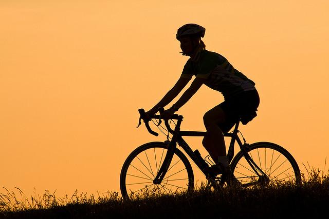 Håkan Dahlström - Sunset cycling