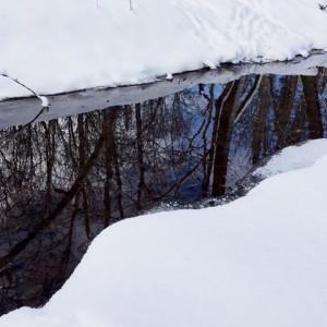 Winter Creek Sky by David Graham
