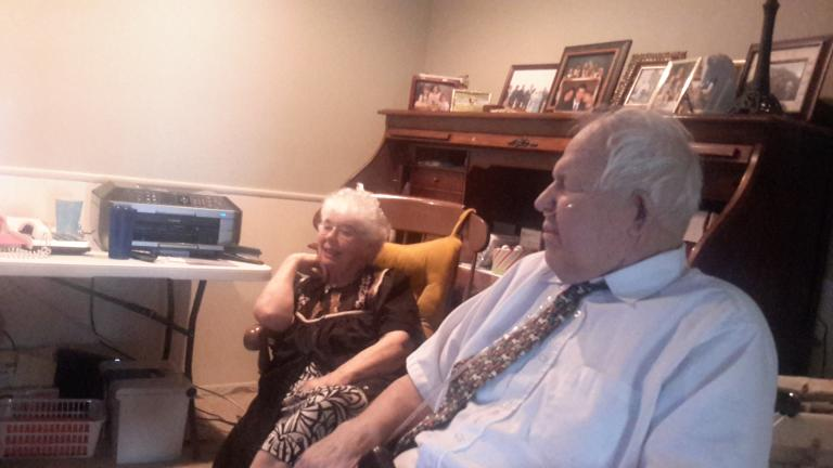 mom and dad watching finlandia
