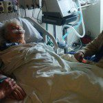 mom and dad in hospital