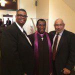 darius, thom, and Reverend Searles